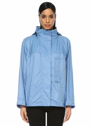 Yves Salomon Yağmurluk Mavi